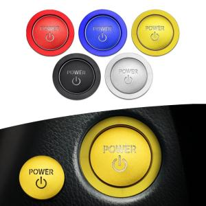 トヨタ レクサス スタートボタン カバー/リング 全5色 TOYOTA LEXUS ハイブリッド車用 など ステッカー アクセサリー カスタム パーツの画像