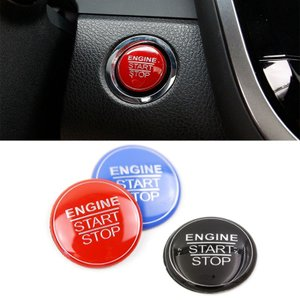 TOYOTA トヨタ用のエンジンスタートボタンカバーです。 裏側が両面テープになっており、簡単に取り...