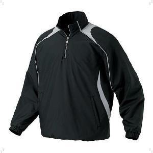 デサント(DESCENTE) STD425-BLK (メンズ)長袖プルオーバーコート (STD425)(ベースボール)(ウィンドブレーカー)|beethree