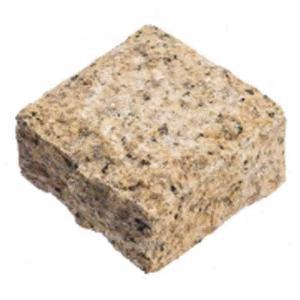 半ピンコロ石45厚【24個セット】 Vイエロー(90x90x厚45mm)