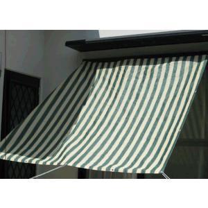 遮光日よけでエコ  サンシェ-ドストライプターフ(幅200×長さ180cm) beever