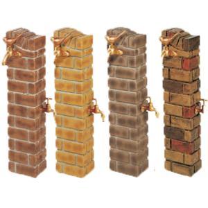 水栓柱 立水栓【ウォータービュー】ブリックポールLサイズ(ホース用蛇口つき) beever