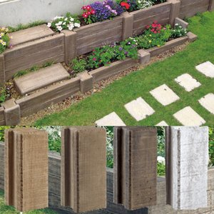 ヴィンテ−ジウッドプロップ ヴィンテ−ジウッドベイプで作る花壇 NO2|beever