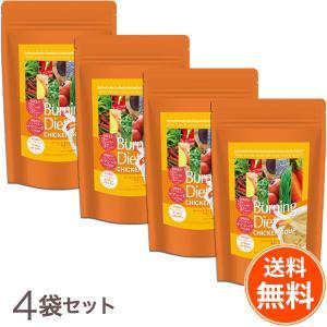 【送料無料4袋セット】バーニングダイエット チキンスープ <ジンジャー> 5g×31包入り3種のしょうがと3種のペッパー|befile