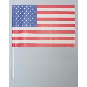 紙手旗・アメリカ国旗|begifttuziyosi
