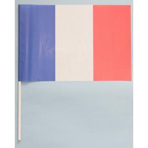 紙手旗・フランス国旗|begifttuziyosi