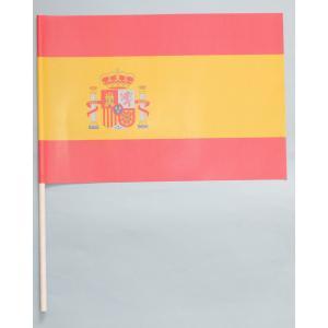 紙手旗・スペイン国旗|begifttuziyosi