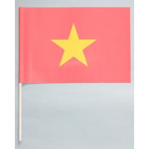 紙手旗・ベトナム国旗|begifttuziyosi