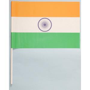 紙手旗・インド国旗|begifttuziyosi