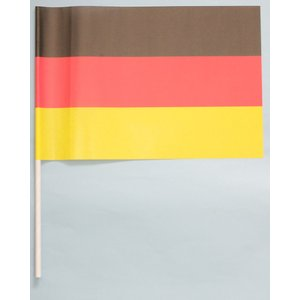 紙手旗・ドイツ国旗|begifttuziyosi