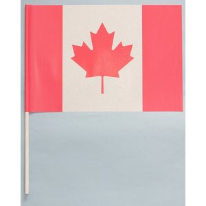 紙手旗・カナダ国旗|begifttuziyosi
