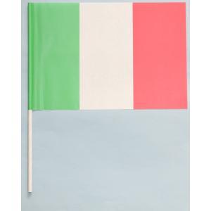 紙手旗・イタリア国旗|begifttuziyosi