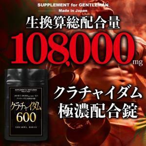 SUPPLEMENT for GENTLEMAN クラチャイダム 600 大容量 90回分/180粒...