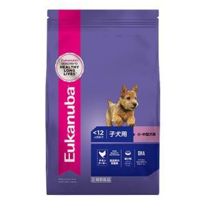 ユーカヌバ スモール パピー 2.7kg 子犬用 小・中型犬用 〜12ヶ月まで|behatu