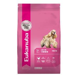 ユーカヌバ ミディアム ウェイトコントロール 2.7kg 成犬用 体重管理 中型犬用 1歳以上|behatu