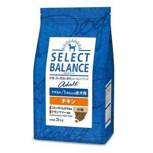 セレクトバランス アダルト チキン 小粒 1才以上の成犬用 3kg|behatu