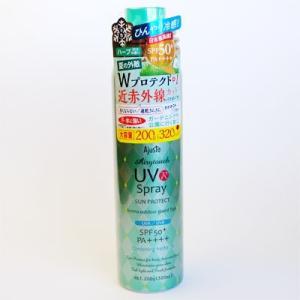 アジャステ エアリータッチUVスプレー GH A (ガーデニングハーブ) 日焼け止め化粧水 200g(320ml)|behatu