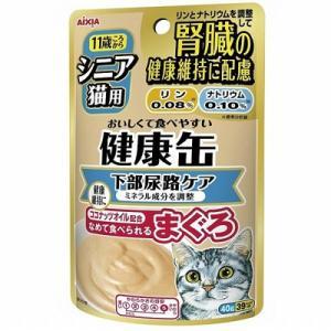 アイシア シニア猫用 健康缶パウチ 下部尿路ケア 40g|behatu