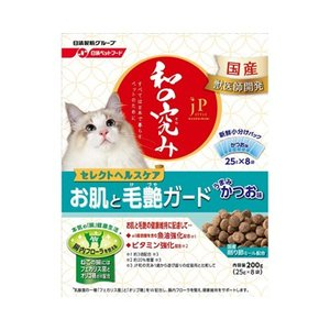 日清ペットフード ジェーピースタイル 和の究み 猫用セレクトヘルスケア お肌と毛艶ガード 200g behatu