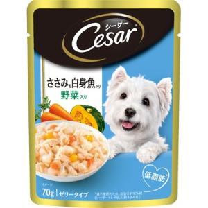 シーザー ささみ&白身魚入り 野菜入り 70g|behatu