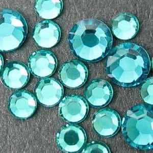 スワロフスキー社 クリスタルガラス ブルージルコン|behatu