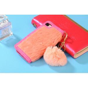 bec67e3b81 ... 手帳型 iphone x iPhone8 iPhone7 Plus ケース ファー ふわふわ 横開きファーケース iphone6/ ...