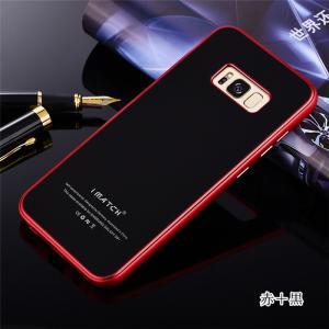 GalaxyS8 ガラスケース アルミバンパー Galaxy S8+ Glass 強化ガラス カバー ギャラクシーs8 アルミバンパーケース beineix-store 02