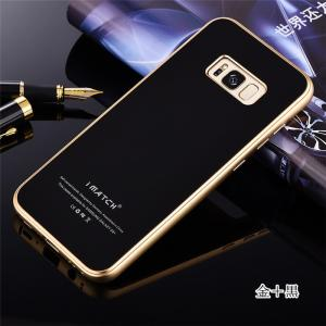 GalaxyS8 ガラスケース アルミバンパー Galaxy S8+ Glass 強化ガラス カバー ギャラクシーs8 アルミバンパーケース beineix-store 03