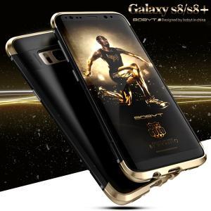新登場 ストラップホール付き GalaxyS8 GalaxyS8+ ケース カバー ギャラクシーs8プラス Galaxy S8 Plus カバー ミックスツートンカラー|beineix-store