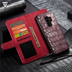 クロコダイル柄 Galaxy note9 GALAXYS9 GALAXY S9+ 手帳型ケース ストラップ ギャラクシーs9+ カバー 財布型 マグネット 着脱 カード スタンド|beineix-store|12