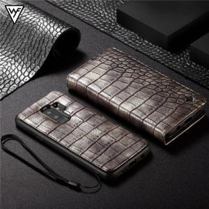 クロコダイル柄 Galaxy note9 GALAXYS9 GALAXY S9+ 手帳型ケース ストラップ ギャラクシーs9+ カバー 財布型 マグネット 着脱 カード スタンド|beineix-store|16
