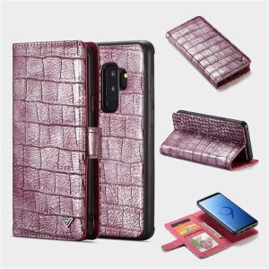 クロコダイル柄 Galaxy note9 GALAXYS9 GALAXY S9+ 手帳型ケース ストラップ ギャラクシーs9+ カバー 財布型 マグネット 着脱 カード スタンド|beineix-store|18