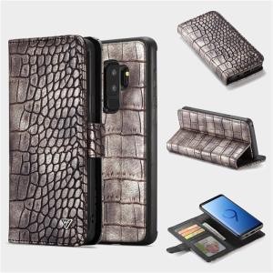 クロコダイル柄 Galaxy note9 GALAXYS9 GALAXY S9+ 手帳型ケース ストラップ ギャラクシーs9+ カバー 財布型 マグネット 着脱 カード スタンド|beineix-store|19