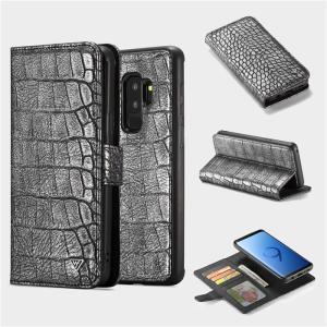 クロコダイル柄 Galaxy note9 GALAXYS9 GALAXY S9+ 手帳型ケース ストラップ ギャラクシーs9+ カバー 財布型 マグネット 着脱 カード スタンド|beineix-store|05