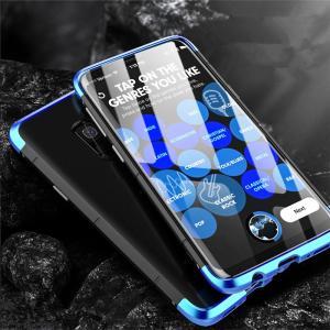 GalaxyS9 galaxy s9+ ケース カバー アルミ ハードケース ミックス ギャラクシーs9プラス 背面カバー メンズ かっこいい|beineix-store