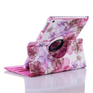 花柄 iPad air2ケース iPad airケース iPad mini 1/2/3 retina  ケース iPad 2/3/4ケース 360° 回転 カバー 墨絵 レザーケース かわいい 3段調整|beineix-store|02