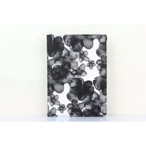 花柄 iPad air2ケース iPad airケース iPad mini 1/2/3 retina  ケース iPad 2/3/4ケース 360° 回転 カバー 墨絵 レザーケース かわいい 3段調整|beineix-store|07