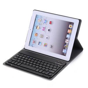 iPad 4 iPad 3 iPad 2 キーボード ケース  Bluetooth 薄型 アイパッド4 アイパッド3 アイパッド2 キーボード付きケース 分離式 iPad 2/3/4 ケース|beineix-store