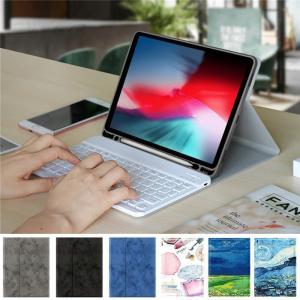 ペンホルダー内蔵 2019 新型 iPad7 iPad Air 3 iPadPro10.5 キーボー...