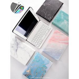 ペンホルダー付き 大理石柄 2019 新型 iPad mini 5 スマート キーボード ケース A...