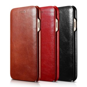3e2971c9bb 本革 iPhone7 iphone8 ケース iPhone7plus iPhone8 Plus ケース 手帳型 レザーケース オイルレザー 高級 ...