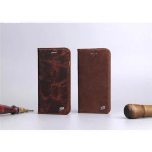 638481e7e8 ... 本革 牛革 iPhone8 ケース 手帳型 レザーケース マグネット式 iPhone7 plusケース オイルレザー ...