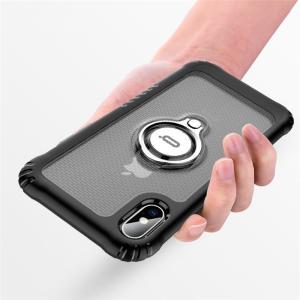 リング ケース iPhone XR iPhoneXS Max iPhoneX カバー バンカーリング 車載ホルダー対応 アイフォンXr アイフォンXS MAX マックス リング付き|beineix-store|02