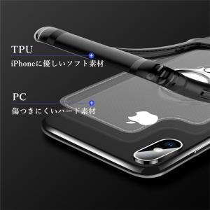 リング ケース iPhone XR iPhoneXS Max iPhoneX カバー バンカーリング 車載ホルダー対応 アイフォンXr アイフォンXS MAX マックス リング付き|beineix-store|05