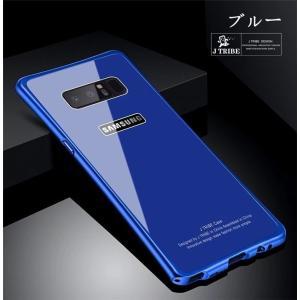 Galaxy Note8 ギャラクシーノート8 ガラスケース アルミバンパー Glass 強化ガラス Galaxy SC-01K SCV37 カバー カラフル|beineix-store|12