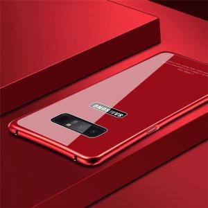 Galaxy Note8 ギャラクシーノート8 ガラスケース アルミバンパー Glass 強化ガラス Galaxy SC-01K SCV37 カバー カラフル|beineix-store|04