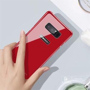 Galaxy Note8 ギャラクシーノート8 ガラスケース アルミバンパー Glass 強化ガラス Galaxy SC-01K SCV37 カバー カラフル|beineix-store|06