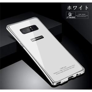 Galaxy Note8 ギャラクシーノート8 ガラスケース アルミバンパー Glass 強化ガラス Galaxy SC-01K SCV37 カバー カラフル|beineix-store|10