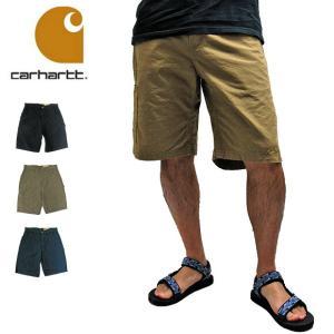 Carhartt カーハート カーゴパンツ B147 CANVAS WORK SHORT PANTS キャンバス ワーク ショートパンツ(メール便不可)|being-yah