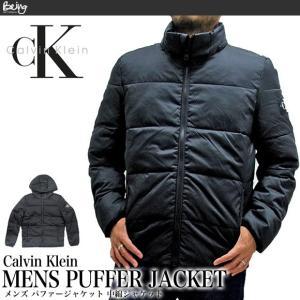 Calvin Klein Jeans カルバンクラインジーンズ 41J1541 メンズ パファージャケット PUFFER JACKET ダウンジャケット(メール便不可)|being-yah